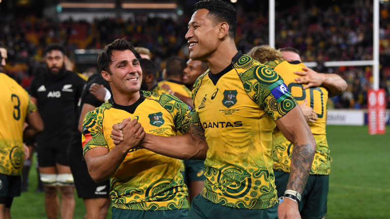 High profile: Folau is one of Australia's highest paid rugby players