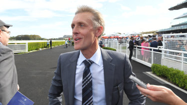 'She's a good filly': Trainer Mark Newnham believes Aim For Perfection can reach listed grade.