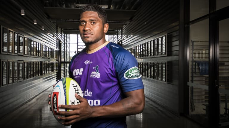 Isi Naisarani has been a revelation for the Brumbies.