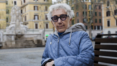 Lucia Scaraffia, founder of the all-female editoral board Women Church World, in Rome this week.