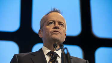 Bill Shorten has indicated that he may bow to the ACTU's demand for a 'living wage'.