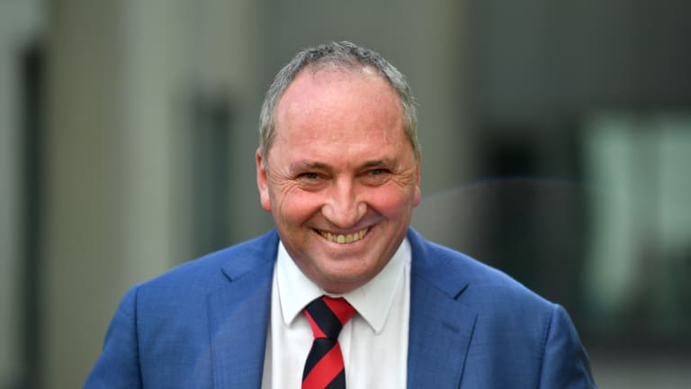 Former deputy prime minister Barnaby Joyce issued a warning over any national integrity scheme.