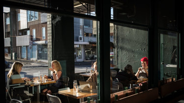 Like their Sydney counterparts, Melburnians have been flocking back to cafes.