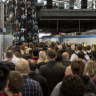Crowd crush at Southern Cross but station revamp faces long delays