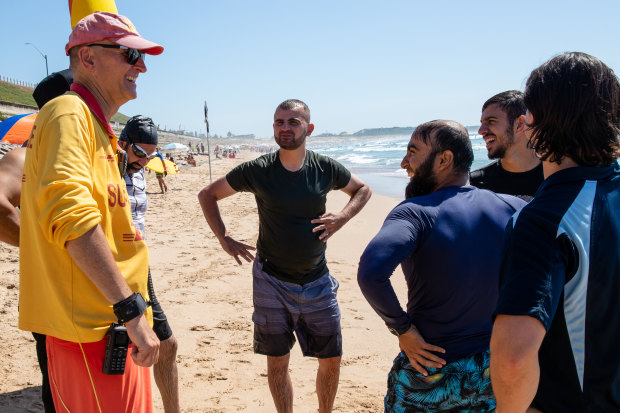 Swim Brothers has partnered with Surf Life Saving NSW to teach water and surf safety to men from diverse backgrounds at North Cronulla Beach.