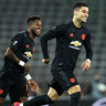 Manchester United thrash LASK in Europa League