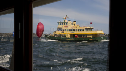 Manly Ferries suspended due to high winds
