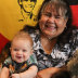 Diana Nikkelson with eight-month-old great grandson Oakley.