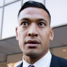 'This is bigger than Israel Folau': RA chair opens fire