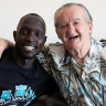 How an 82-year-old neighbour helped an A-League defender find his zen