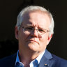 Morrison lands in NYC for talks, says he expected French subs anger