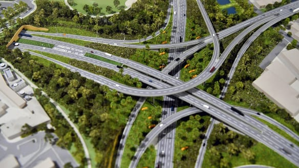 'World's worst park': WestConnex's new St Peters spaghetti junction