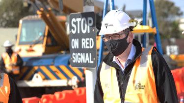 Premier Daniel Andrews announced the investment in Edithvale on Thursday.