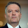 Cormann concedes Coalition was 'in a more competitive position' when Turnbull knifed