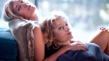 Valeria Bruni Tedeschi, left and Nadia Tereszkiewicz in Only the Animals.