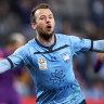Look who's back: Top gun Le Fondre returns to bolster Sydney FC's strike force