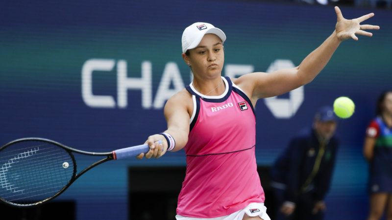 Ashleigh Barty survives scare in US Open opener