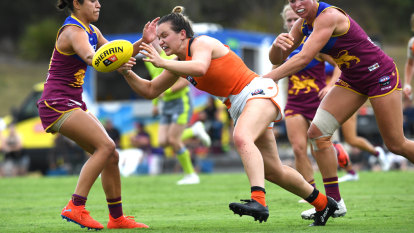 Giants debutant secures AFLW Rising Star nomination in round one