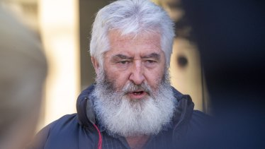 Family members, including Leading Senior Constable Lynette Taylor's husband Stuart Schulze, were at the County Court on Wednesday for the sentencing.