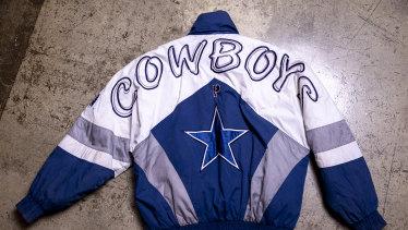 Dallas Cowboys starter jacket, $150.