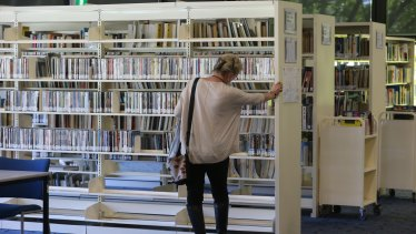 Visits to libraries are increasing.