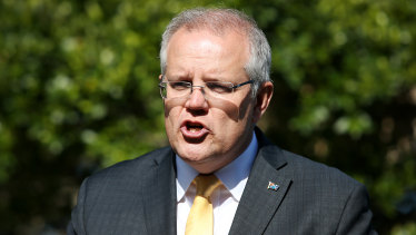 Prime Minister Scott Morrison said Mr Trump had shown restraint on the subject of Iran in their talks in the White House last month.