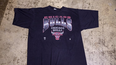 Chicago 1980s Bulls T-shirt, $150.