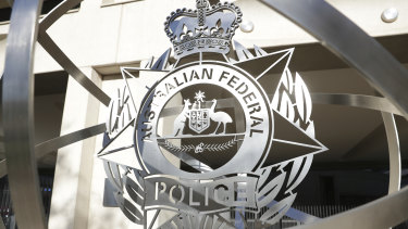 The Australian Federal Police headquarters in Canberra.