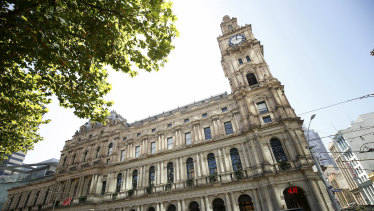 Melbourne's GPO has been officially valued at $1.