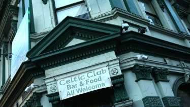 The Celtic Club is being developed into apartments.