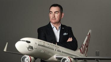 Virgin chief executive officer Paul Scurrah.