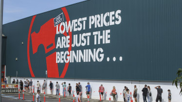 More underpayments have been discovered at hardware giant Bunnings.