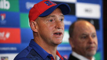 Nathan Brown is firming to take over as head coach of the Warriors.