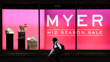 Coronavirus is a threat but could also be an opportunity for Myer.