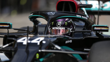 Lewis Hamilton made a statement with his performances on the track and with his car's appearance as F1 resumed in Austria.