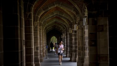 COVID emptied campuses of students across Australia.