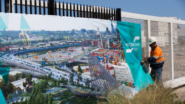 The Westgate Tunnel is expected to be finished by 2022.