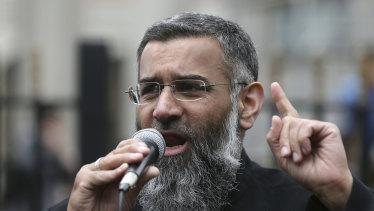 Anjem Choudary in 2015.