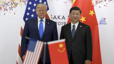 Trade tensions continue to fester between the US and China.