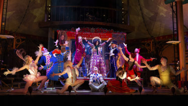 Barnum - The Circus Musical is playing at the Comedy Theatre in Melbourne.