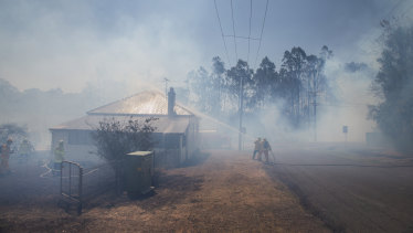 Wine producers are worried about the potential impact of bushfire smoke on their grapes.