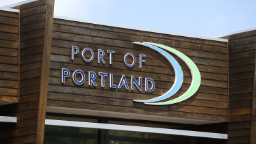 The chief executive of the Port of Portland, Greg Tremewen, said the operation was taken very seriously.