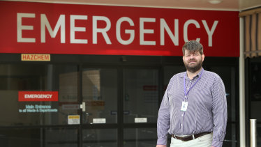 South West Healthcare Director of Emergency Department Dr Tim Baker.