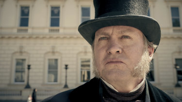 Philip Glenister as James Trenchard in Belgravia.