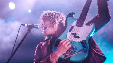 Lime Cordiale's Louis Leimbach would have been travelling the European festival circuit were it not for the pandemic.