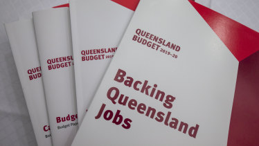 The Queensland budget papers.