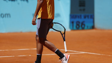 No fan of clay: Nick Kyrgios.