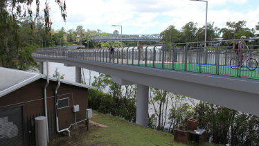 Construction of the Indooroopilly bikeway is expected to commence in the 2018-19 financial year.