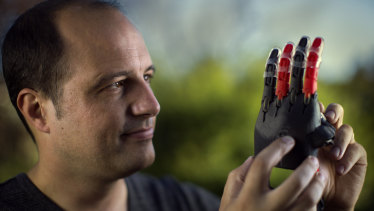 Mat Bowtell worked at the Toyota factory before he was made redundant and turned his skills to making 3D printed hands.