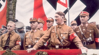 Hitler in about 1933.